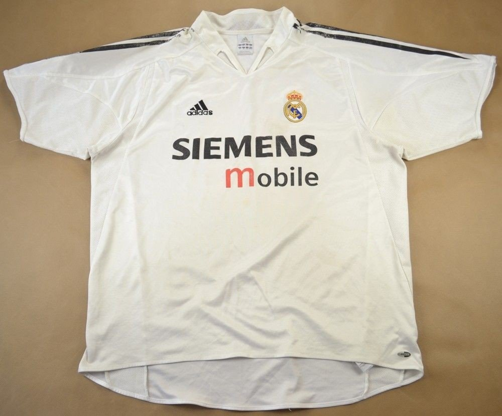 low priced 90f67 1f8b9 2003-04 REAL MADRID *BECKHAM* SHIRT XL