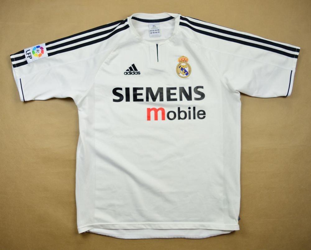 differently ca8d6 10e44 2003-04 REAL MADRID SHIRT XL. BOYS 170 CM 16 YRS