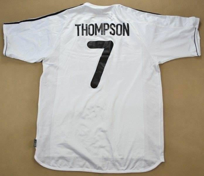 online retailer 6e12a e5327 2003-04 REAL MADRID *THOMPSON* SHIRT L