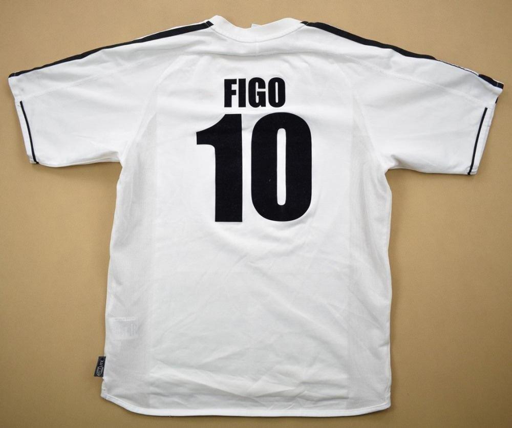 the best attitude c1fc7 1195f 2003-04 REAL MADRID SHIRT *FIGO* XL. BOYS