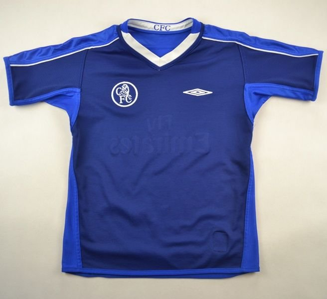 new product 2a5c6 880c2 2003-05 CHELSEA LONDON SHIRT S. BOYS