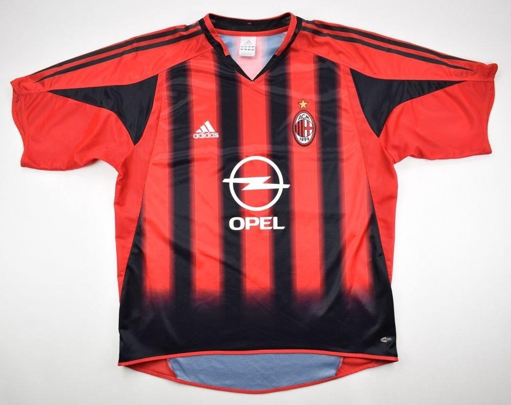 2004 05 Ac Milan Shirt L Football Soccer European Clubs Italian Clubs Ac Milan Classic Shirts Com