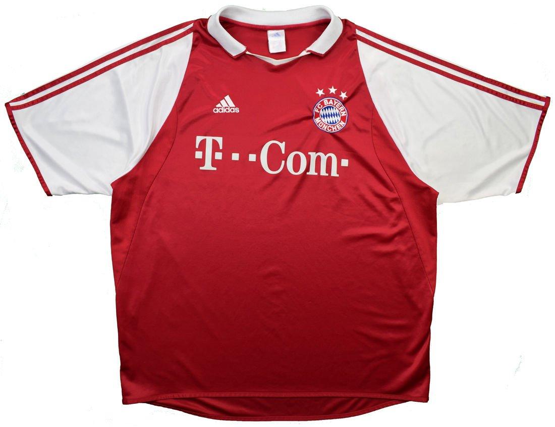 2004 05 Fc Bayern Munchen Shirt M Boys Football Soccer European Clubs German Clubs Bayern Munchen Classic Shirts Com