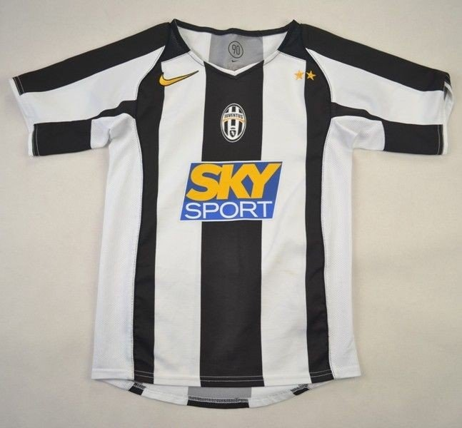 on sale ce4b1 94b05 2004-05 JUVENTUS SHIRT S. BOYS