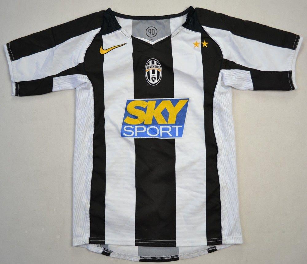09b394dae 2004-05 JUVENTUS SHIRT S BOYS Football   Soccer   European Clubs   Italian  Clubs   Juventus