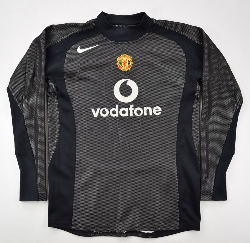 4fd95464c 2004-05 MANCHESTER UNITED GK SHIRT L. BOYS Football   Soccer ...