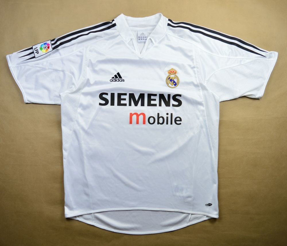 official photos 8910d c1f96 2004-05 REAL MADRID SHIRT M