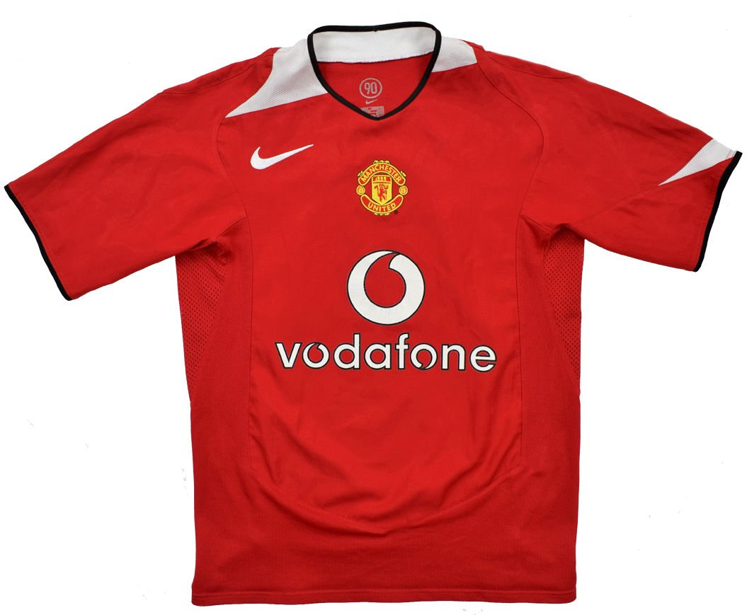 pretty nice 85a5c abe93 2004-06 MANCHESTER UNITED SHIRT M