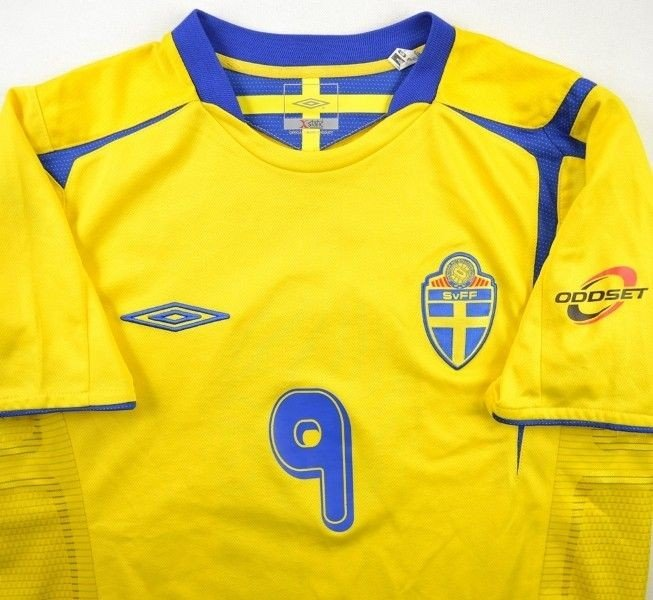 2004-06 SWEDEN  LJUNGBERG  SHIRT S Football   Soccer   International ... 2c5a81023