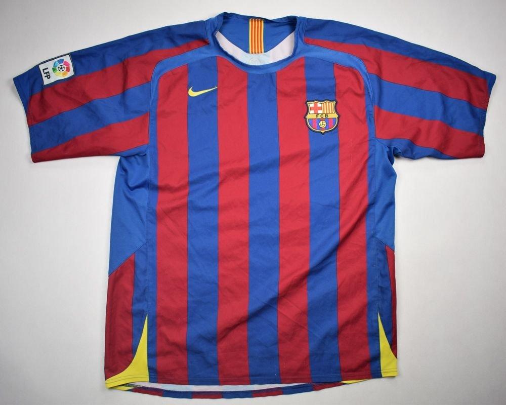 040b9e0d5 2005-06 FC BARCELONA SHIRT L Football   Soccer   European Clubs   Spanish  Clubs   FC Barcelona