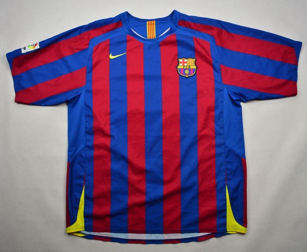 0d134dea9 2005-06 FC BARCELONA SHIRT XL Football   Soccer   European Clubs   Spanish  Clubs   FC Barcelona