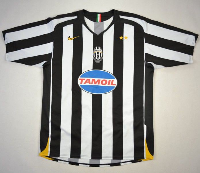 on sale bf1c7 00024 2005-06 JUVENTUS SHIRT L