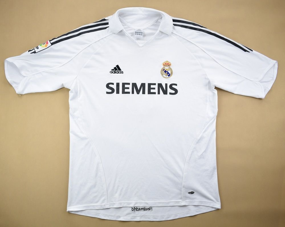 check out 23117 cf79d 2005-06 REAL MADRID *CARLOS* SHIRT XL