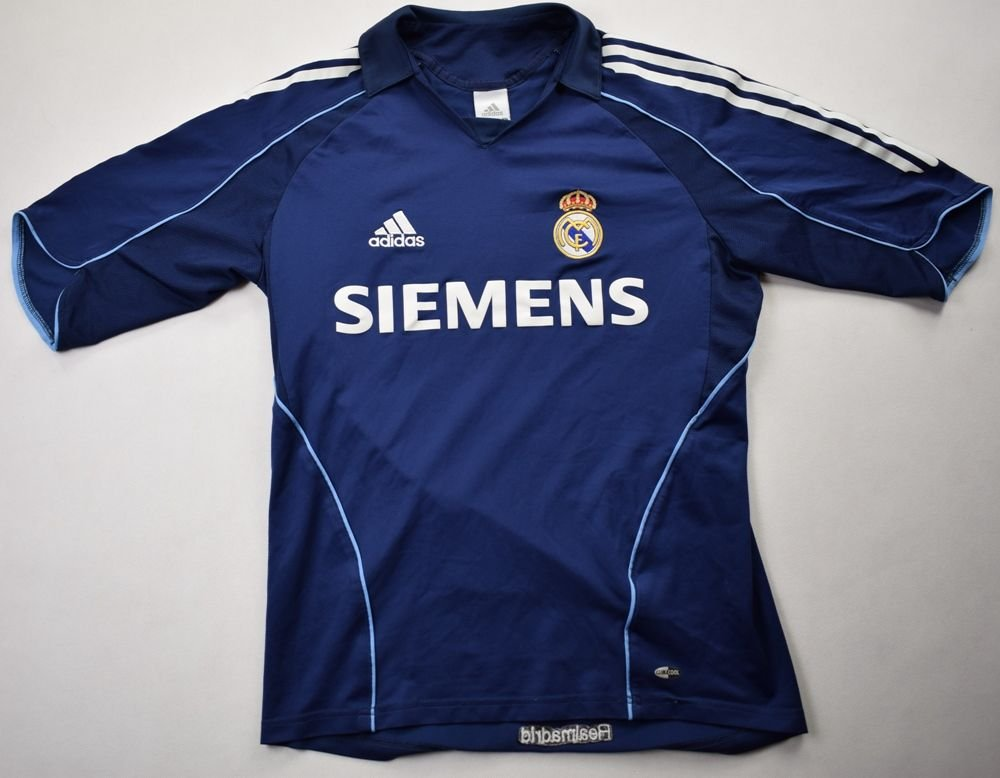 new photos 3b860 d554d 2005-06 REAL MADRID SHIRT S