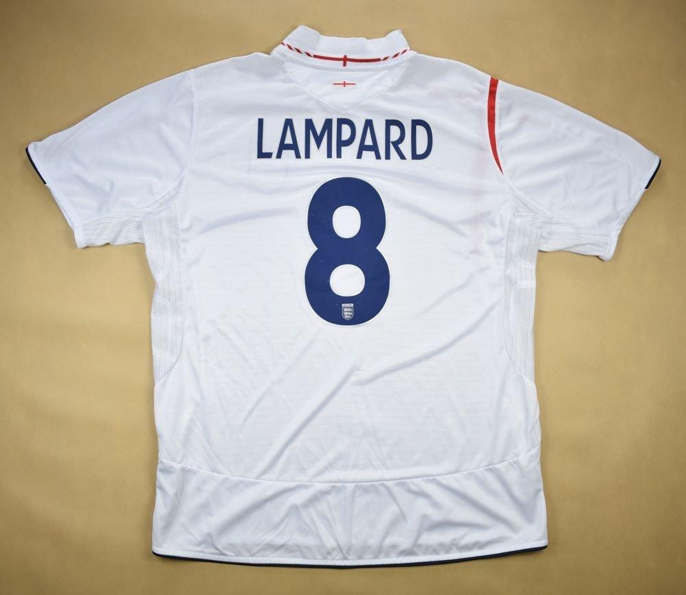 be146ffb466 2005-07 ENGLAND  LAMPARD  SHIRT XL Football   Soccer   International Teams    Europe   England