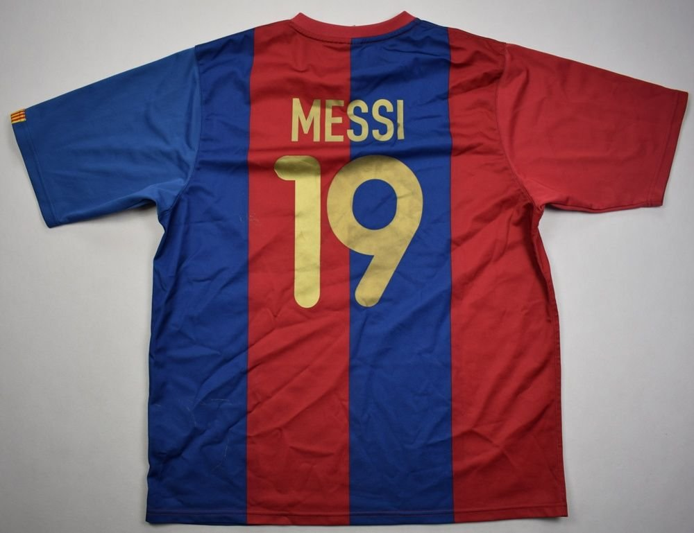 929941e8b 2006-07 fc barcelona  messi  shirt xl football   soccer european