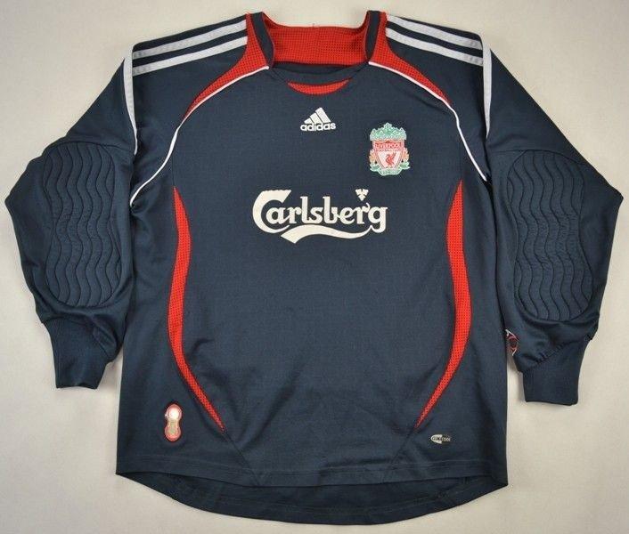 2006 07 Liverpool Goalkeeper Top L Boys Football Soccer Premier League Liverpool Classic Shirts Com