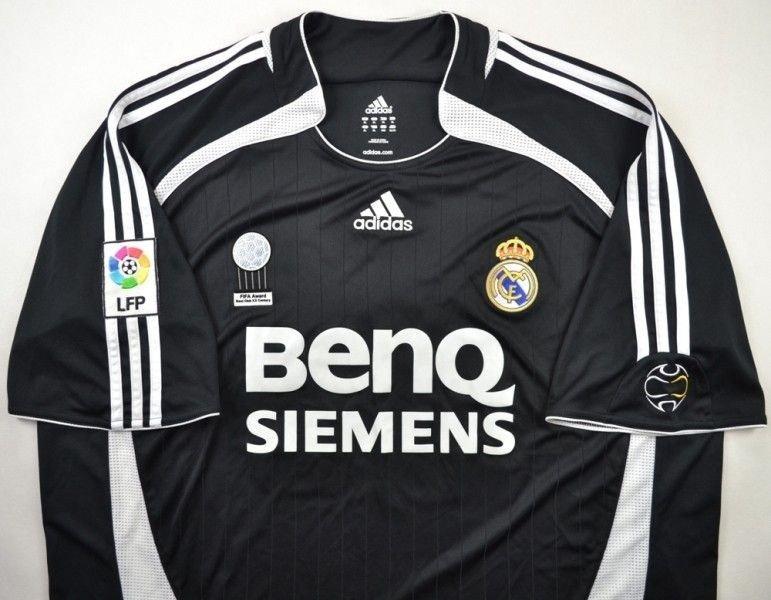 efc629409 2006-07 REAL MADRID  BECKHAM  SHIRT XL Football   Soccer   European ...