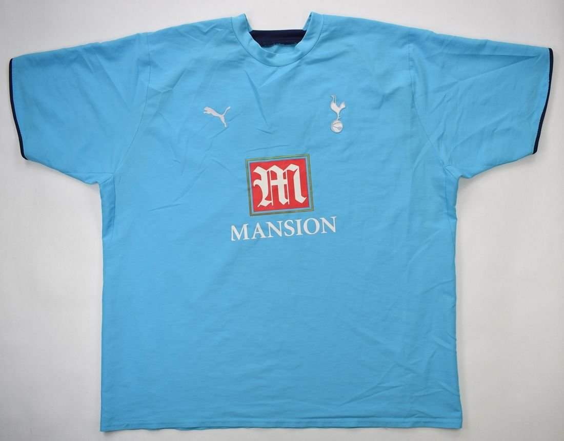 2006 07 Tottenham Hotspur Shirt 4xl Football Soccer Premier League Tottenham Classic Shirts Com
