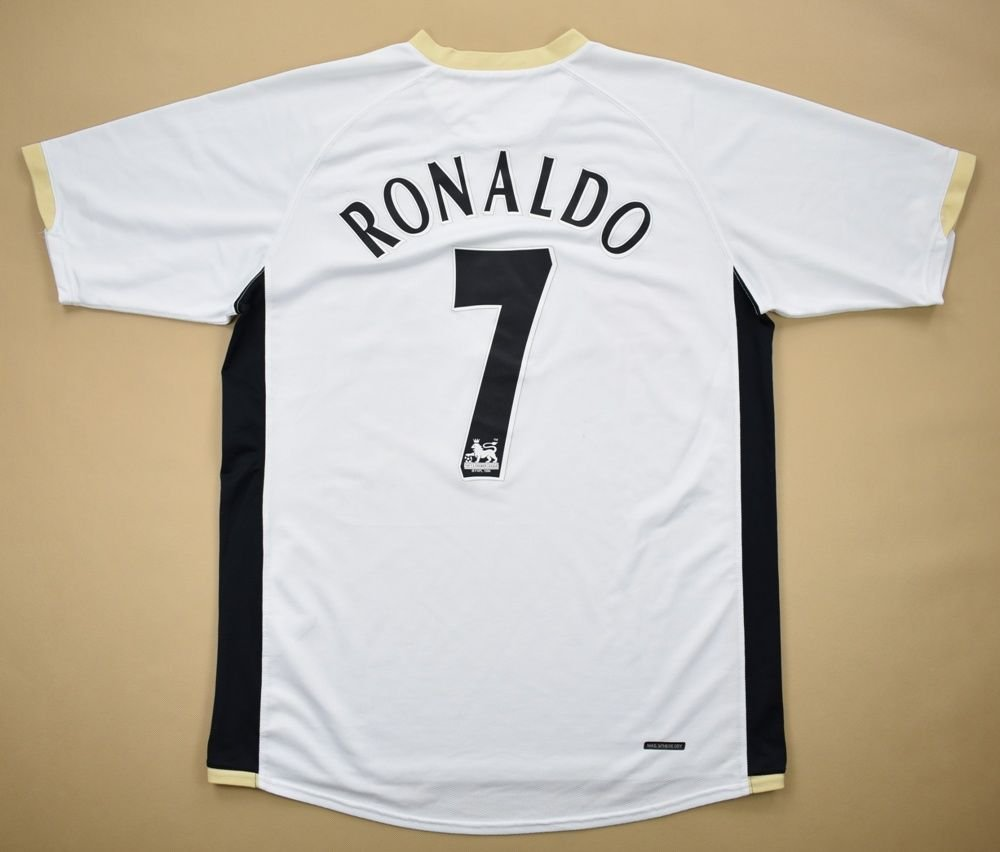 323bd3387e9 2006-08 MANCHESTER UNITED  RONALDO  SHIRT XL Football   Soccer   Premier  League   Manchester United