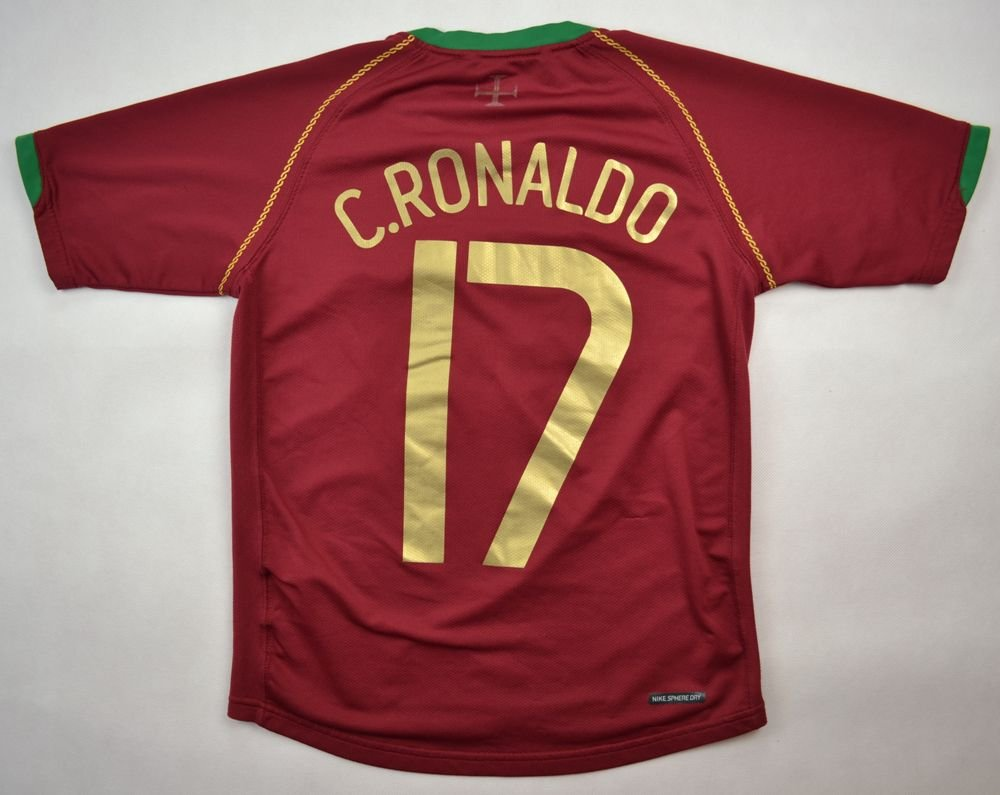 on sale 0b2b0 b63c8 2006-08 PORTUGAL *C.RONALDO* SHIRT M. BOYS 140-152 CM