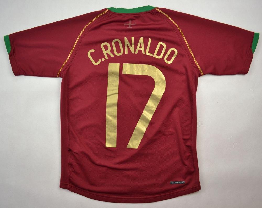 on sale 2d696 c6ee5 2006-08 PORTUGAL *C.RONALDO* SHIRT M. BOYS 140-152 CM
