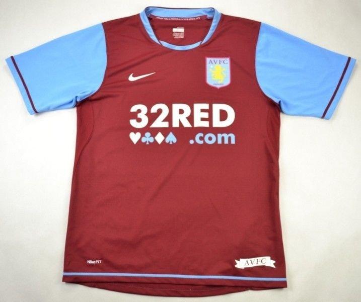 2007 08 Aston Villa Shirt S Football Soccer Premier League Aston Villa Classic Shirts Com
