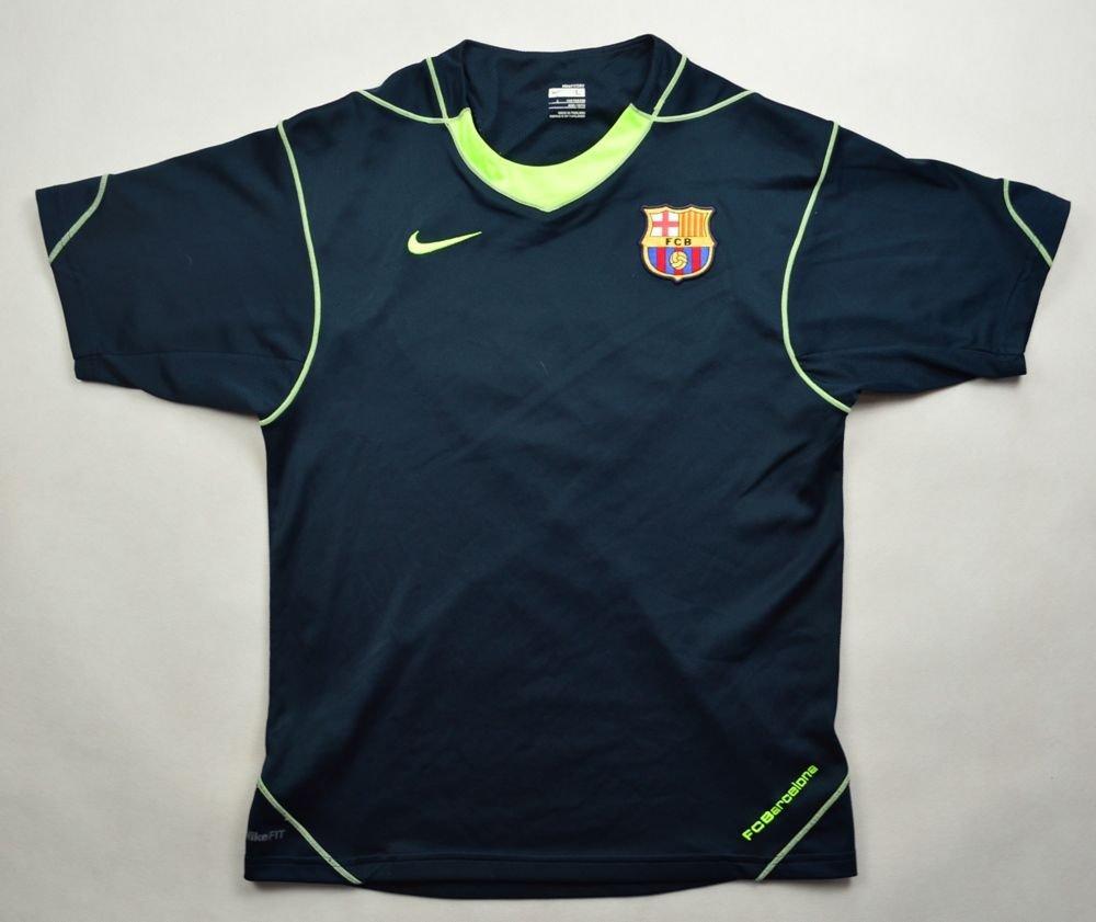 38dcb276280 2007-08 FC BARCELONA SHIRT L.BOYS 152-158 CM Football   Soccer   European  Clubs   Spanish Clubs   FC Barcelona