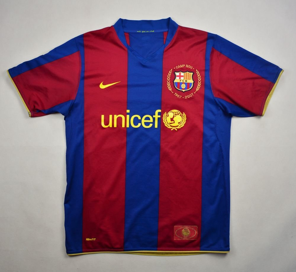 8f384fee5 2007-08 FC BARCELONA SHIRT S Football   Soccer   European Clubs   Spanish  Clubs   FC Barcelona