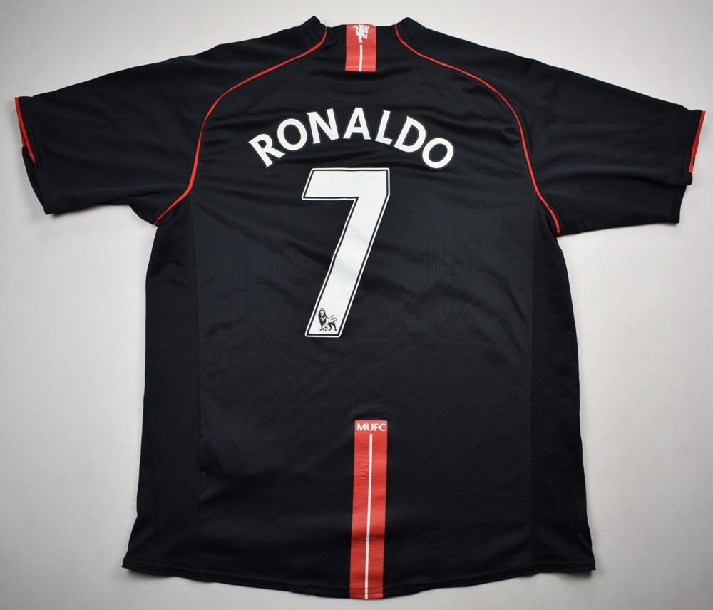 865a72e47f4 2007-08 MANCHESTER UNITED  RONALDO  SHIRT L Football   Soccer   Premier  League   Manchester United