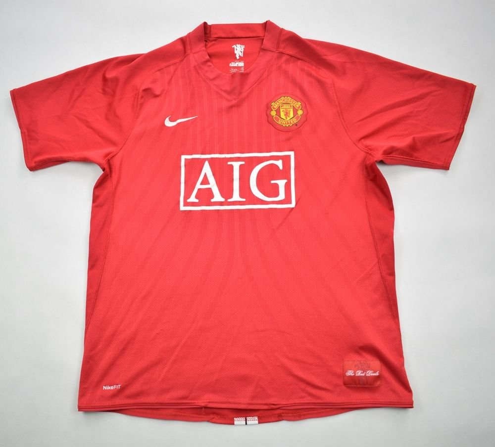 pick up 7e660 426a2 2007-08 MANCHESTER UNITED SHIRT M