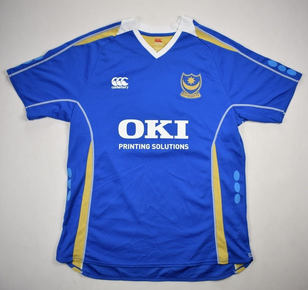 f909d2a6742 2007-08 PORTSMOUTH FC SHIRT L Football   Soccer   League One   Portsmouth