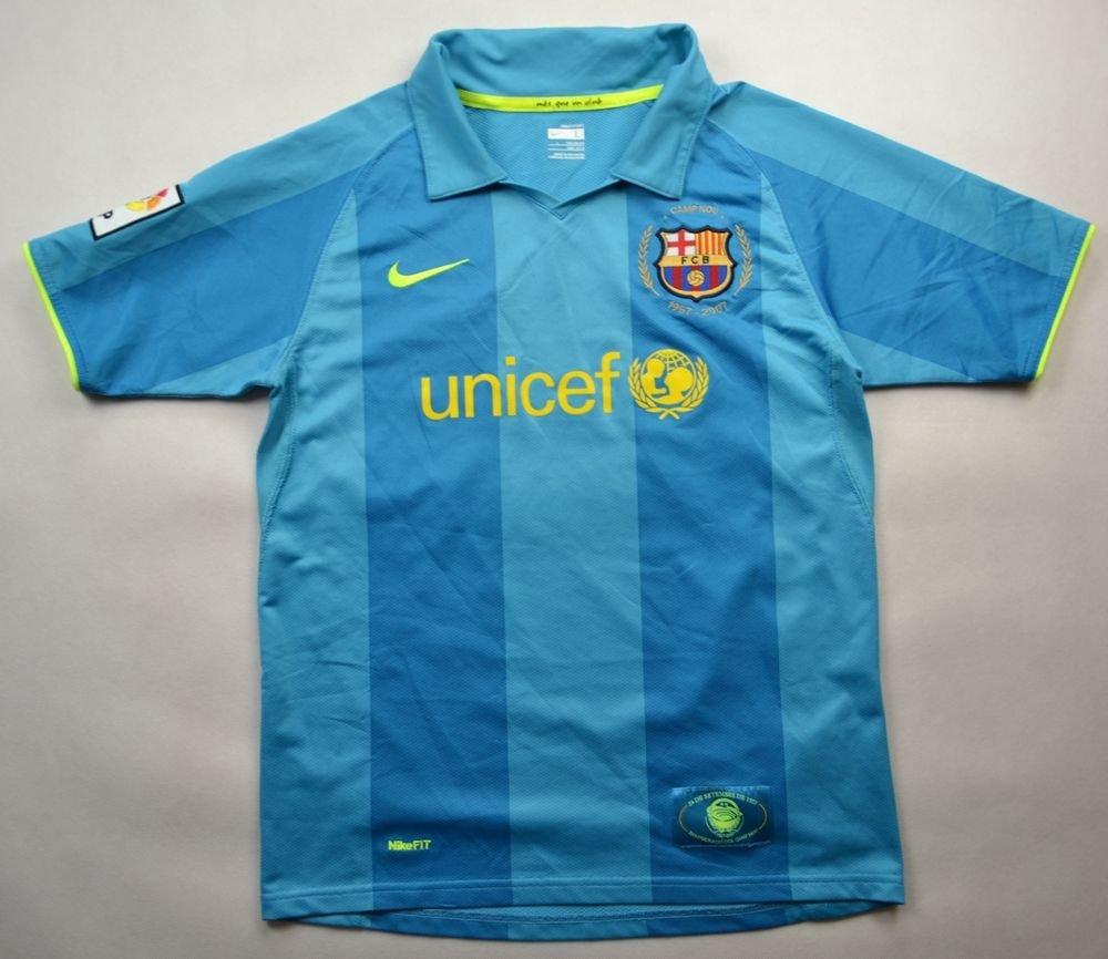 a2e0d413c64 2007-09 FC BARCELONA SHIRT L. BOYS 152-158 CM Football   Soccer   European  Clubs   Spanish Clubs   FC Barcelona