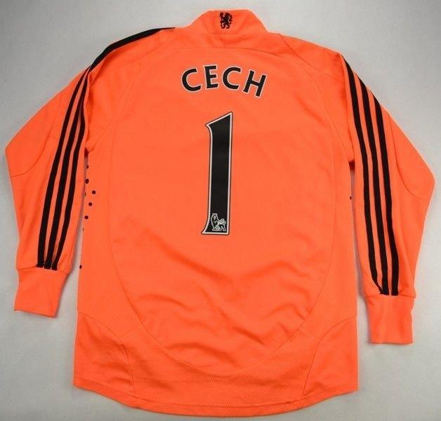 0973ea06e 2008-09 CHELSEA LONDON  PETR CECH  GOALKEEPER SHIRT XL. BOYS Football    Soccer   Premier League   Chelsea London