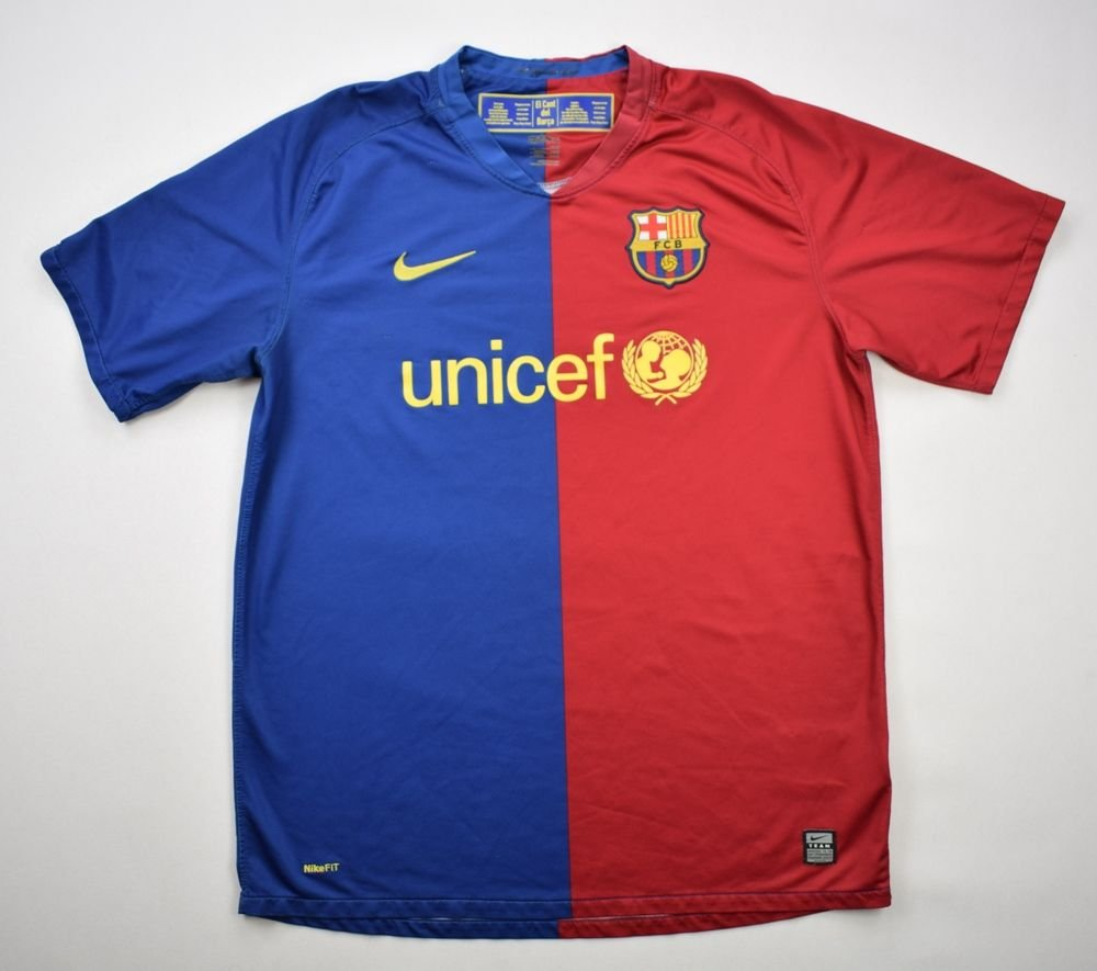 b1452e816 2008-09 FC BARCELONA SHIRT L Football   Soccer   European Clubs   Spanish  Clubs   FC Barcelona