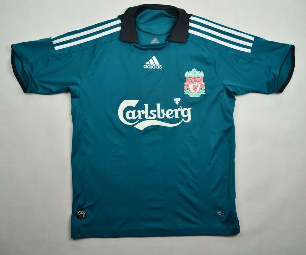 2008 09 LIVERPOOL SHIRT L. BOYS 164 CM