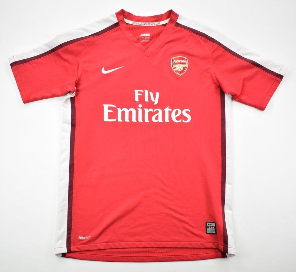 best loved 7b669 79fa9 2008-10 ARSENAL LONDON SHIRT XL. BOYS