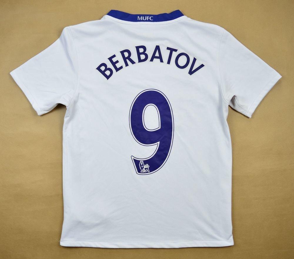 d074603ad 2008-10 MANCHESTER UNITED  BERBATOV  SHIRT L. BOYS Football   Soccer    Premier League   Manchester United