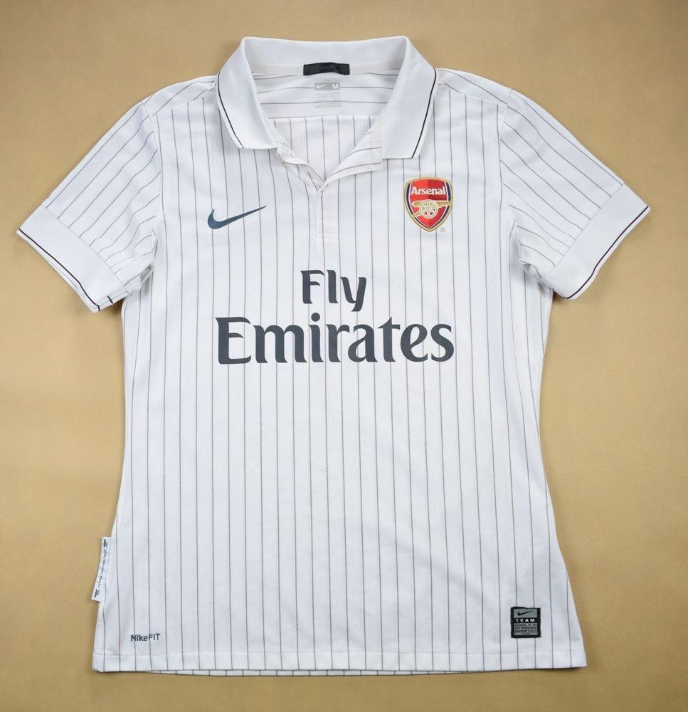 on sale 06146 27be2 2009-10 ARSENAL LONDON SHIRT M. BOYS 168 CM