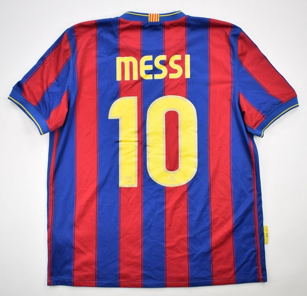c8d33fca4 2009-10 FC BARCELONA  MESSI  SHIRT L Football   Soccer   European Clubs    Spanish Clubs   FC Barcelona