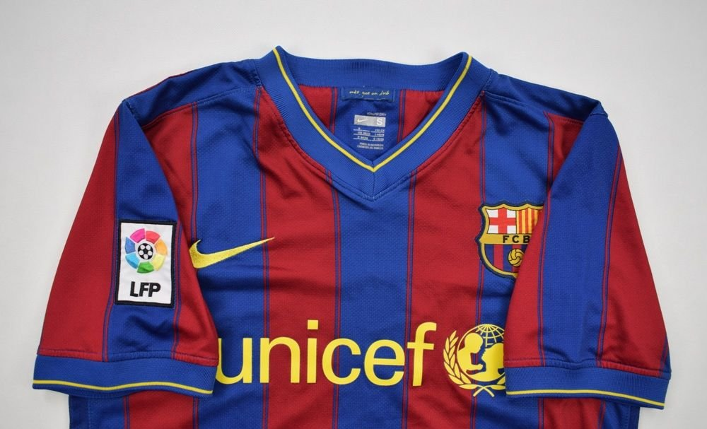 f8ff30c35 2009-10 FC BARCELONA SHIRT S Football   Soccer   European Clubs   Spanish  Clubs   FC Barcelona