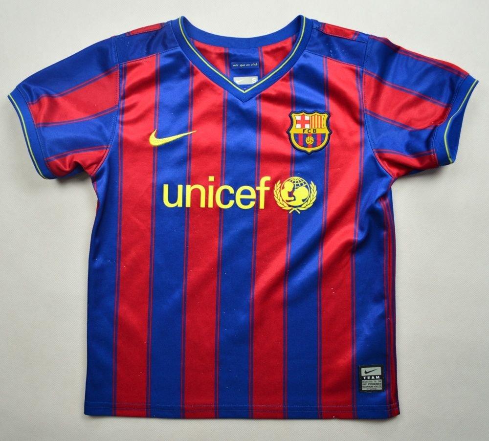 b6df83d50 2009-10 FC BARCELONA SHIRT S.BOYS 104-110 CM Football   Soccer   European  Clubs   Spanish Clubs   FC Barcelona