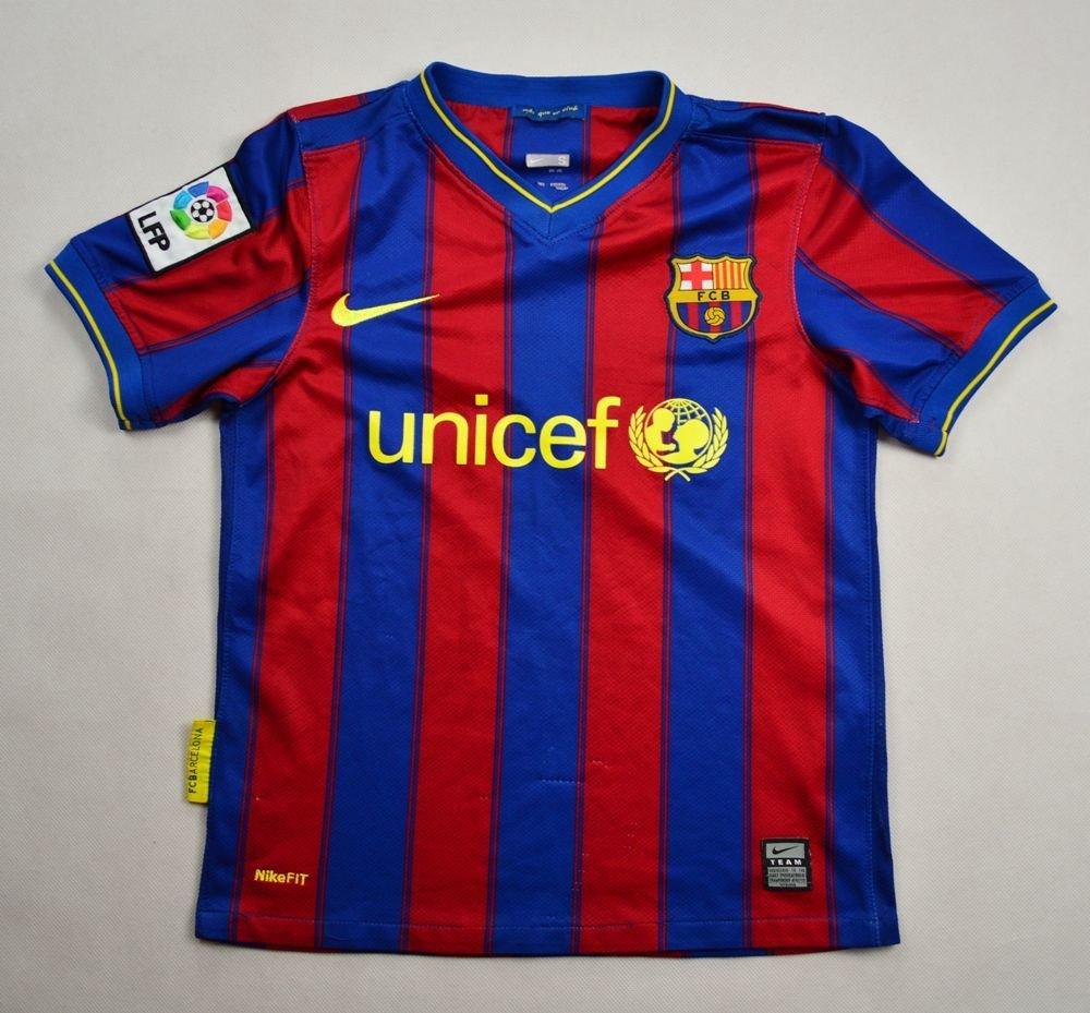 4d9636d14 2009-10 FC BARCELONA SHIRT S. BOYS Football   Soccer   European Clubs    Spanish Clubs   FC Barcelona