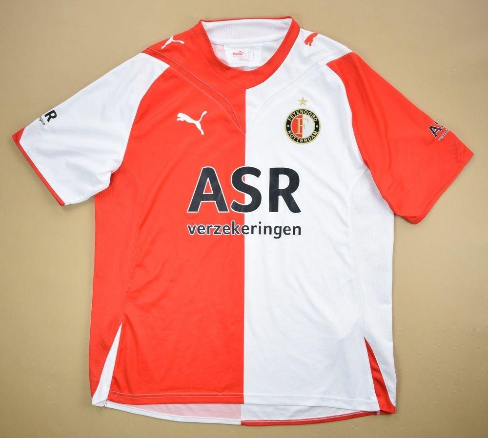 2009 10 Feyenoord Rotterdam Shirt M Football Soccer European Clubs Dutch Clubs Feyenord Classic Shirts Com