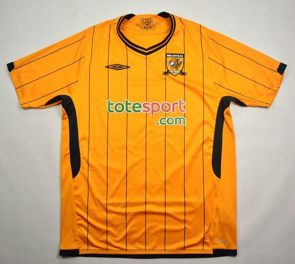2009-10 HULL CITY A.F.C. SHIRT L Football   Soccer   Championship   Hull  City  6d81e8cfc