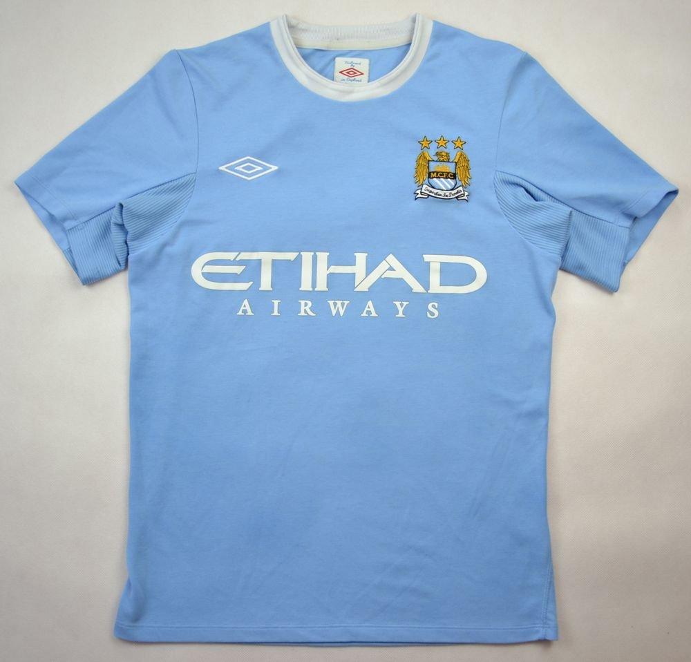 d697f764bdd 2009-10 manchester city shirt xl. boys football   soccer premier