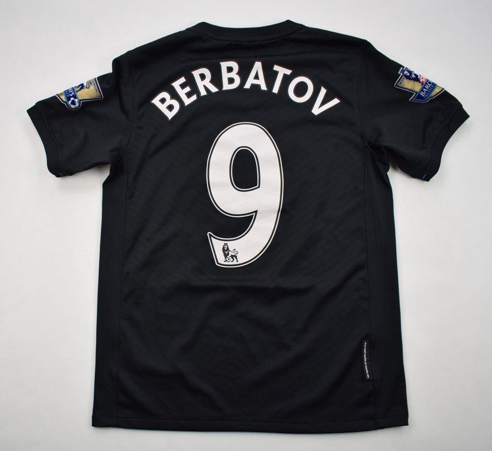 50c39dccc 2009-10 MANCHESTER UNITED  BERBATOV  SHIRT L. BOYS Football   Soccer    Premier League   Manchester United