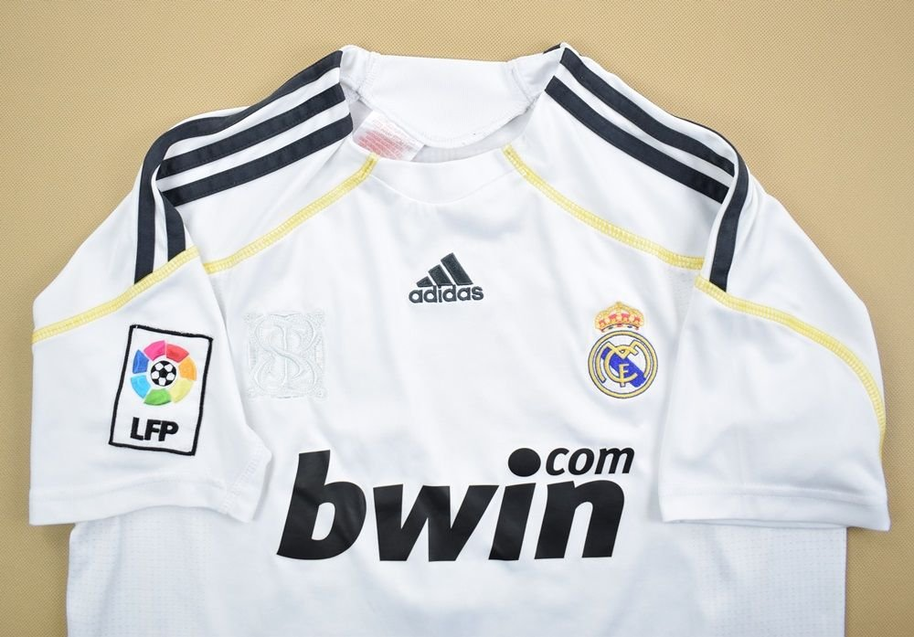 differently 02daa 0f56b 2009-10 REAL MADRID *RAUL* SHIRT M. BOYS