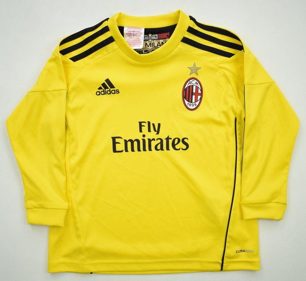 2010-11 AC MILAN LONGSLEEVE SIZE 3-4 YRS Football / Soccer ...