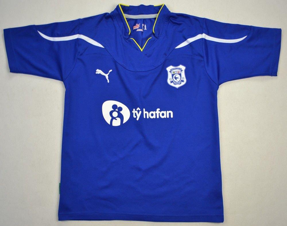 ddd8fcb2f 2010-11 CARDIFF CITY SHIRT L. BOYS Football   Soccer   Premier ...
